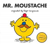 Mr. Moustache, Paperback by Hargreaves, Adam, Brand New, Free P&P in the UK