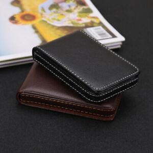 Men Business Mini ID Case Wallet Portable Bank Credit Card Holder Cardholder HC
