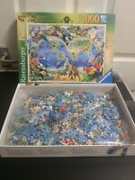 Ravensburger World of Wildlife 1000 piece jigsaw puzzle complete