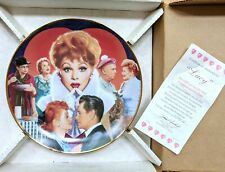 The Hamilton Collection I Love Lucy Collector's Plate-Lucy by Morgan Weistling