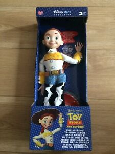 Toy Story Figure Pull String Jessie Disney Store Exclusive MIB Brand New!!