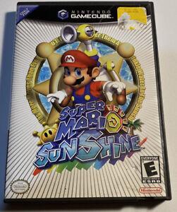 SUPER MARIO SUNSHINE (Nintendo GameCube) Case , Manual