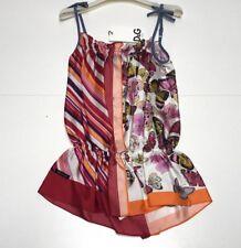 D&G Girls NEW Kids BUTTERFLY & STRIPE COMBO DRESS OUTFIT Sz: 4 RTL: $295 Q12
