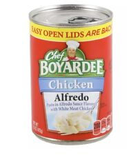 Chef Boyardee Chicken Alfredo Pasta 5 Cans 15 Oz Each Free Priority Shipping