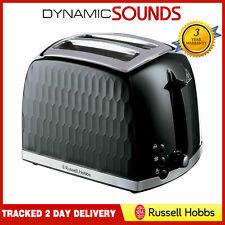 Russell Hobbs 26061 Honeycomb 2 Slice Toaster In Black