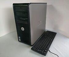 DELL optiplex 745 DESKTOP PC Core 2 DUO 4GB 160GB Win DVD WI-FI CLEAN AND FAST