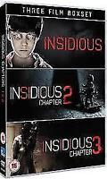 Insidious / Insidious - Chapter 2 / Insidious Chapter 3 DVD NEW DVD (EO51928D)