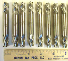 End Mills 38 Double Ended Four Flute Non Center Cutting 8pcs 1 Lot