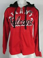 Atlanta Falcons NFL Team Apparel Women's Mesh Zip-Up with Screen Print Logo