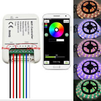 12V-24V LED RGB RGBW/WW Controller For LED Strip WiFi Smart Dimmer IOS Android