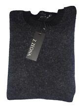Z Zegna Mens Wool Black Sweater Size XL NWT $495