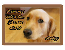 PERSONALIZED PET SIGN YOUR PHOTO/TEXT ALUMINUM FULL COLOR CUSTOM ART PANEL 3