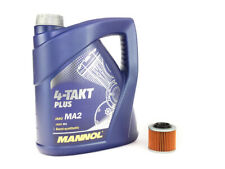 Motoröl Ölfilter HF151 Set SAE 10W-40 4 Liter für Aprilia Pegaso BMW F 650 MZ