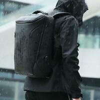 Men Anti-Thief Waterproof Laptop USB Backpack Travel School Computer Bag