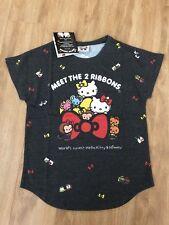 World's cutest Hello Kitty & Mimmy Hello Kitty MEET THE 2 RIBBONS T-shirt