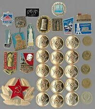 Rare Old LENIN Medal Pin COLD WAR Russia CCCP Coin Vintage Collection Lot Y20 us