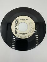"Ultra Rare PROMO 45 ""Swingin' Sue / Blue Night"", Doug Brown, Checker 1001 Tested"