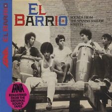 Various Artists-El Barrio: Sounds from the Spanish Harlem Streets CD   New