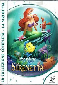 WALT DISNEY ( LA SIRENETTA)  TRILOGIA    3 DVD