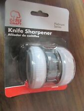 Chef Craft Roller Style Knife Sharpener #20494    NEW  FREE Shipping