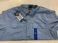 GERRY MEN'S SHORT SLEEVE WOVEN WRINKLE-RESISTANT SHIRT (PRE-OWNED) - VARIETY