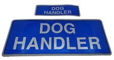 More details for encapsulated reflective dog handler badges sewn on or hook and loop s & m