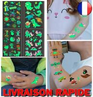 Autocollants Tatouage Temporaire Enfant Colle Brillante Visage Bras Jambes Corps