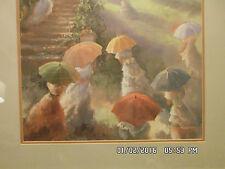 Rare Susan Mink Colclough Catch The Sun Signed Ltd Ed # 177of 1950 Framed Print