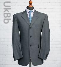 Daniel Hechter Grey Wool Suit Jacket Single Breasted 40R