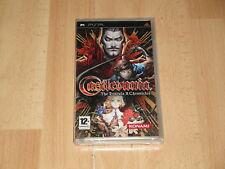 Castlevania the Dracula X Chronicles Sony PSP PAL España completo buen estado