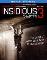 Insidious: Chapter 3 Blu-ray Disc Leigh Whannell NEW / SEALED FREE SHip