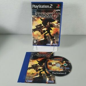 Shadow The Hedgehog Playstation PS2 Action Video Game Manual PAL