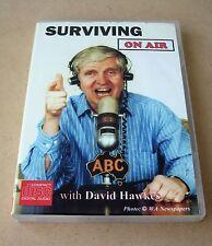 Surviving on Air with David Hawkes audio CD set (WA radio broadcaster) memoir