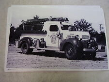 1947 DODGE FIRE TRUCK   11 X 17  PHOTO  PICTURE