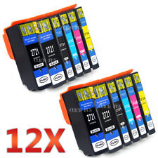 12x 273XL Non-OEM Ink Cartridge for Epson XP520 XP600 XP620 XP700 XP720 XP800