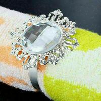 12 stücke Diamant Serviettenring Serviettenhalter Hochzeit Bankett Dinner D W6B0