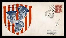 Dr Who 1942 Canada Dawson Yukon Wwii Patriotic Cachet To Usa f56327