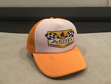 Acid Cigars Racing Team Sports Bike Baseball Cap Snap Back Hat Rad Yellow Mesh