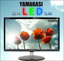 "YAMAKASI - NEW 22"" 2214 LED SLIM Full Slim Bezel 1920 x 1080 60Hz FHD Monitor"