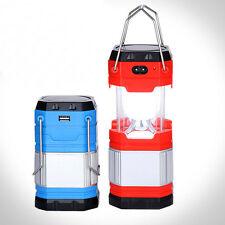 LED USB Festival Lamp Light Hook Solar Camping Lantern Bright Windup Outdoor