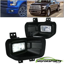 [LED]Fit 2015-2017 Ford F-150 Pickup LED Replacement Driving Bumper Fog Lights