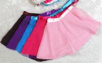 7 Colors Girls Ballet Leotard Wrap Scarf Tutu Dance Skirt Skate Chiffon Dress A