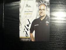 THW Kiel   Autogrammkarte   Jörn-Uwe Lommel  / Handball