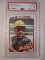 1980 WILLIE STARGELL #610 TOPPS BASEBALL CARD - PSA GRADED 4 VG-EX - TUB BBA-8