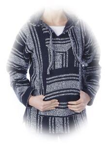 !! SALE !! Baja Hoodie Jacke Gr L-XL Kapuzenpullover Pullover Sweatshirt Mexico