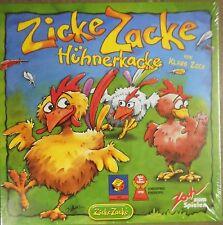 ZICKE ZACKE HÜHNERKACKE + Erweiterung Zicke Zacke Entenkacke   (OVP)  /   ZOCH