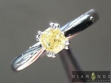 .31ct Fancy Yellow SI2 Cushion Cut Diamond Ring R6970 Diamonds By Lauren
