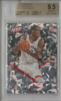 2016 Pascal Siakam RC Rookie Panini Day Cracked Ice #62 BGS 9.5 GEM MINT