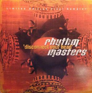 "RHYTHM MASTERS ""DISCONNECT YOUR HEAD"" 2001 UK 2x12"" PROMO VINYL 12"" MINT-"