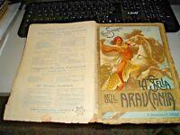 La Estrella Dell'Araucania de E. Salgari - Ed. Bemporad 1924